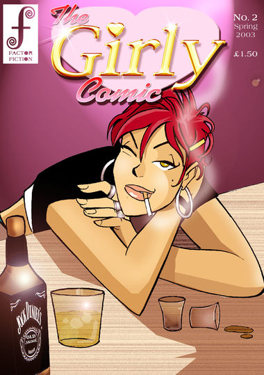 The Girly Comic #2 Cover