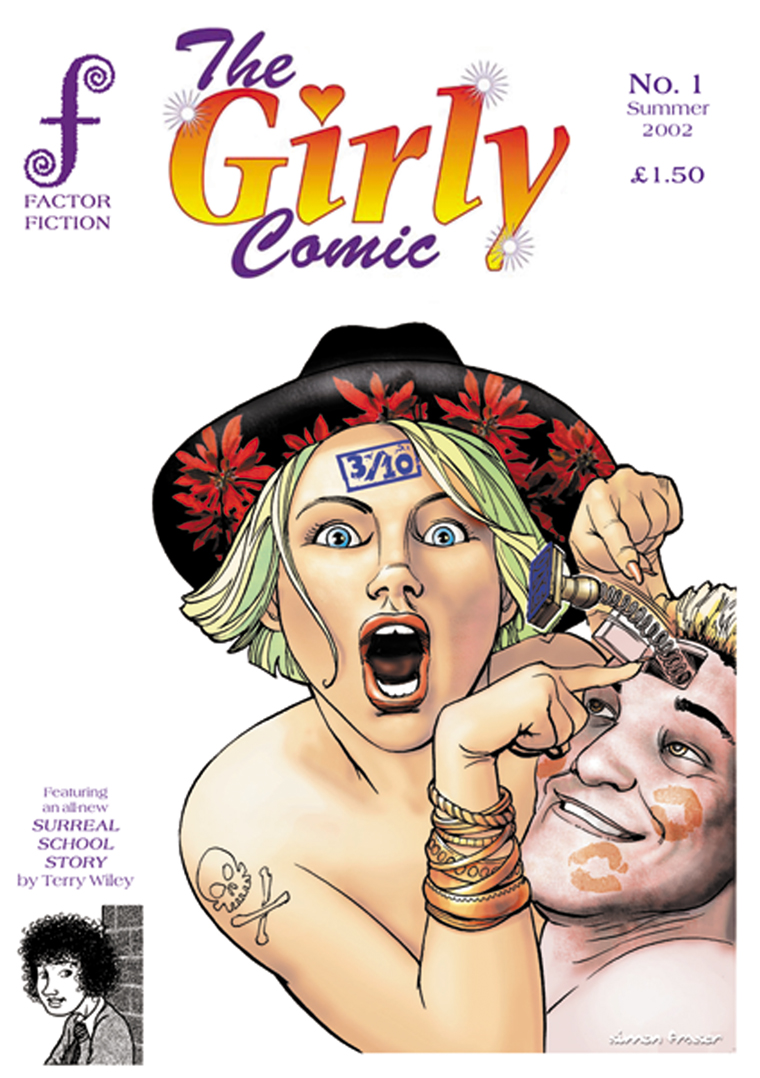 The Girly Comic #1 Cover
