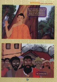 Example Page of the Buddhist Comic